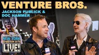 The Venture Bros. creators join Marvel LIVE!