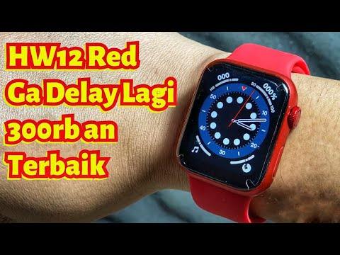 Iwo HW 12 Smartwatch paling mirip apple watch series 6