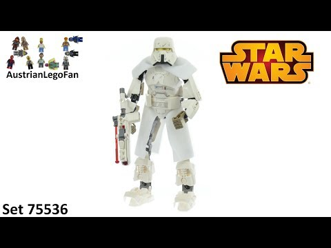 Vidéo LEGO Star Wars 75536 : Range Trooper (Buildable Figures)