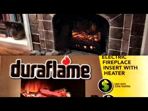 Unboxing and review: Duraflame electric fireplace insert with heater