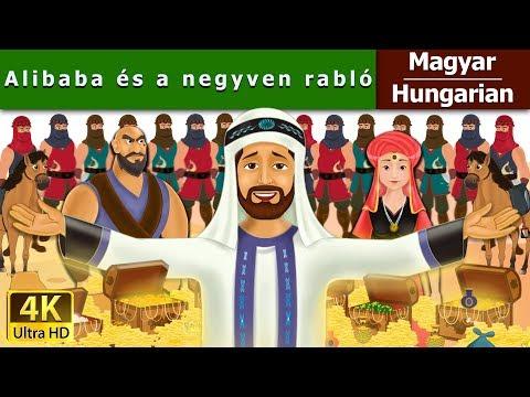 Alibaba és a negyven rabló - Tündérmese - Esti mese - 4K UHD - Hungarian Fairy Tales letöltés