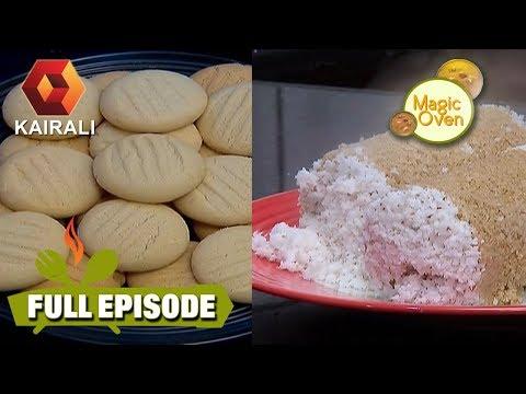 Magic Oven: Wheat Coconut Cookies   Oats Puttu   Full Episode