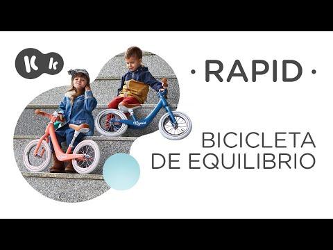 Bicicleta sin pedales RAPID color rosa Kinderkraft