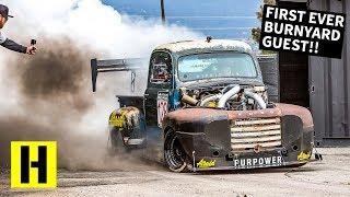 2000 ft-lb Diesel Race Truck Breaks in the New BurnYard!! Old Smokey F1 Returns