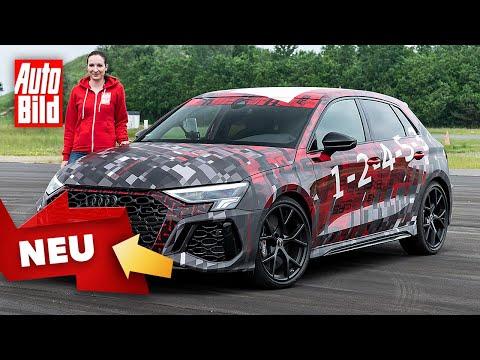 Audi RS 3 (2021) |Driftmodus macht RS 3 zum Quertreiber |Erlkönig-Vorstellung mit Katharina Berndt