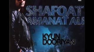 Shafqat Amanat Ali - Wo Jaanta Hai - Kyun   - YouTube