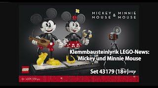 LEGO Mickey und Minnie Mouse (Set 43179): Klemmbausteinlyrik News