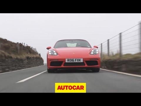 2016 Porsche 718 Boxster S - first drive