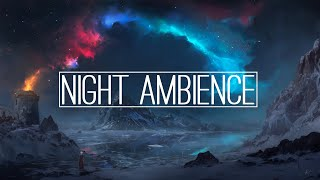 If You Like Skyrim Listen To This Music | Night Ambience