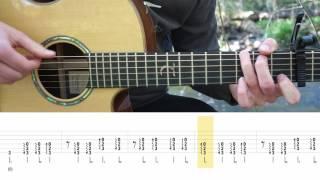 Virgoun   Surat Cinta Untuk Starla   Fingerstyle Guitar TABS Tutorial (Belajar Gitar) Mattias Krantz