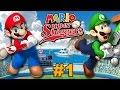 Mario Super Sluggers Mario Fireballs Vs Luigi Knights M