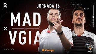 MAD Lions E.C. VS Vodafone Giants | Jornada 16 | Temporada 2018/2019