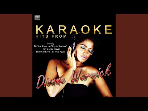 Promises, Promises (In the Style of Dionne Warwick) (Karaoke Version)