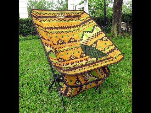 【LIFECODE】羽量級-民族風輕巧蝴蝶椅-2色可選 LC655
