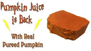 Making Pumpkin Puree Soap - This Years Pumpkin Juice!