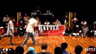 BATTLE BAD 2012 - 1/2 FINALE HIPHOP -  LAURA VS UKAY - HKEYFILMS