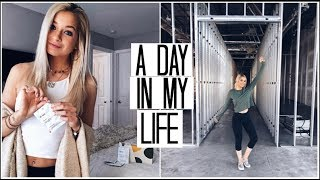 Day in my Life: stRIDE Construction, Meetings, & Eating Healthy