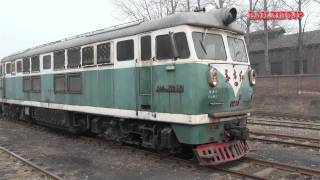 preview picture of video '[0079] Chinese Diesel Locomotive DFH3 (DongFangHong) 中国DL 東方紅3型'