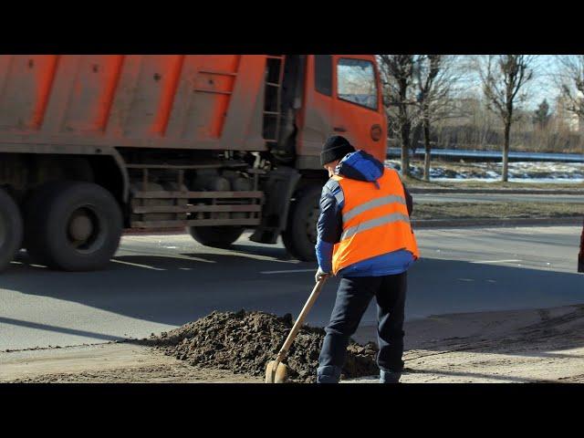 В Ангарске приступили к уборке дорог