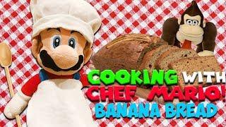 "SM134 Short: Cooking With Chef Mario! ""Banana Bread"""