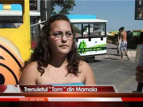Trenuleţul Tom din Mamaia – VIDEO