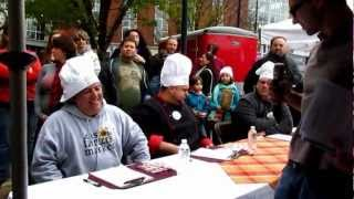 preview picture of video 'Pennsylvania Bacon Festival Easton Farmers Market Lehigh Valley PA Part 1'