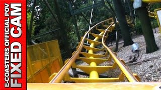 preview picture of video 'Super Wirbel Holiday Park Plopsa - Roller Coaster POV On Ride MK 1200 Vekoma (Theme Park Germany)'