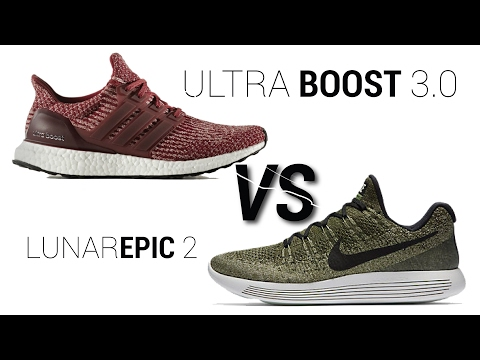 ba077b46fd338c NIKE LUNAREPIC LOW FLYKNIT 2 VS ULTRA BOOST 3 0 COMPARISON play