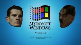Hitler is Informed he´s installed on Windows 3.1