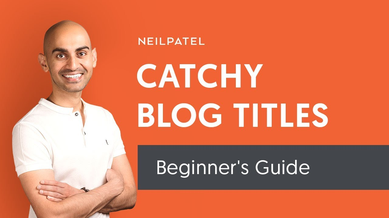 How to Write Catchy Blog Post Titles