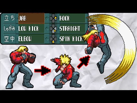 The Best Fighting Game Character Creator - Kakuge-Yaro