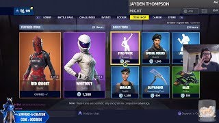 *NEW* Cobalt Starter Pack - Fortnite Item Shop Today [January 23rd] (Fortnite Battle Royale LIVE)