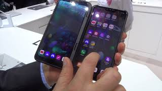 LG V50 ThinQ 5G e cover Dual Screen, approfondimento dal MWC 2019