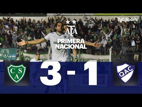 Sarmiento 3 - Quilmes 1