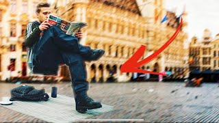 THE INVISIBLE CHAIR ! -  MAGIC PRANK