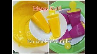 How to make Easy Mango Kulfi |No cook|Mango Kulfi Without condensed milk