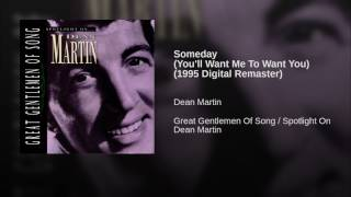 Someday (You'll Want Me To Want You) (1995 Digital Remaster)