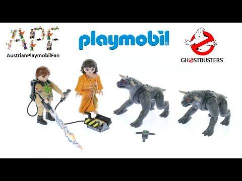 Vidéo PLAYMOBIL Ghostbusters 9223 : Venkman et les Chiens de la Terreur