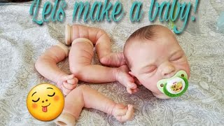 REBORN BABY BUILDING AND BOX PACKING! HOW TO MAKE A BABY!