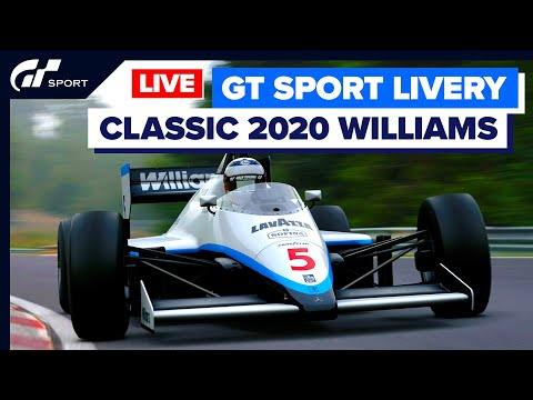 Decoración Williams 2020 en F1 de 1985