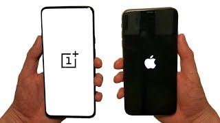 OnePlus 7 Pro vs iPhone XS Max Speed Test, Speakers & Cameras!
