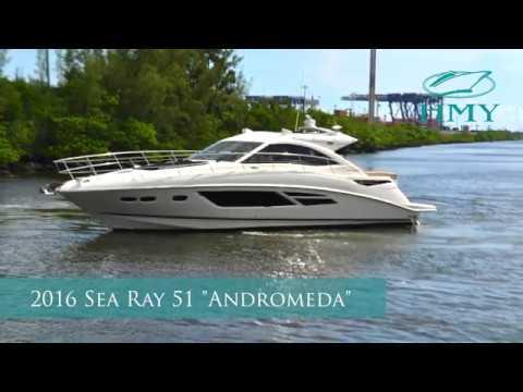 Sea Ray 510 DA video