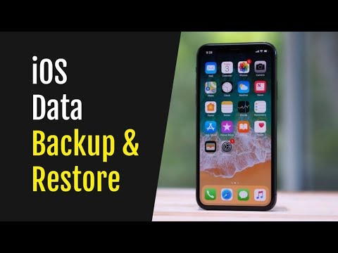 How To Backup And Restore iPhone Data in One Click