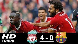 Liverpool Vs Barcelona 4-0 All Goals & Highlights 2017/2018 HD