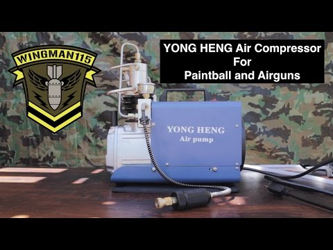 Yong Heng Air Compressor 4500 psi For Paintball / Airguns