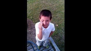 kid gets caught stealing money from his mom..