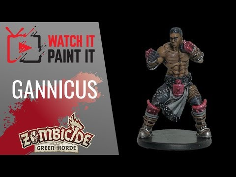 Zombicide Green Horde - Painting Gannicus