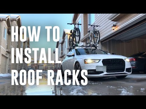 How to Install a Bike Roof Rack on a Car (Full DIY Guide)