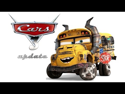 Cars 3 Update - New Characters