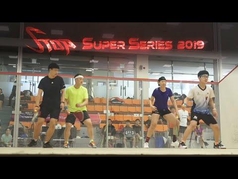 [매치업스쿼시] 오서진-한문섭 vs 김아현-조성민(S-Top Super Series 2019)